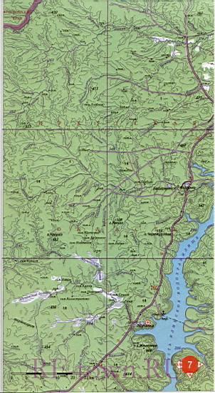 Карты Иркутской области для