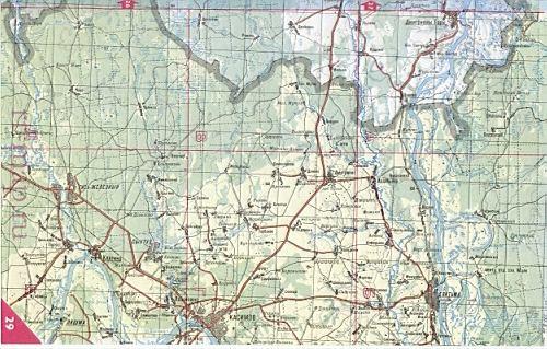 пертово вачский район старая карта машиниста мостового