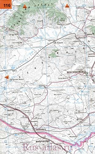 Краснокаменский Район Карта