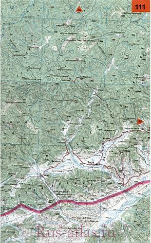 карта красночикойского района