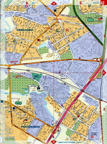 Карта СВАО. Карта СВАО Северо-Восточного округа Москвы ...: http://rf-town.ru/1065140.html