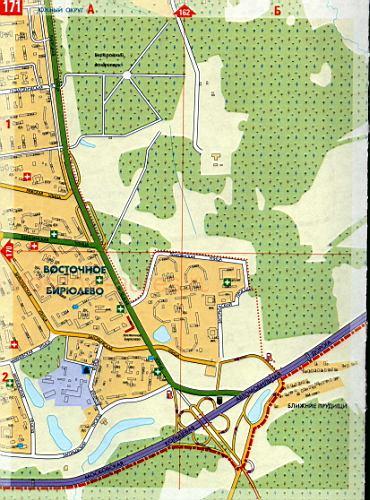 Карта Москвы схема - метро