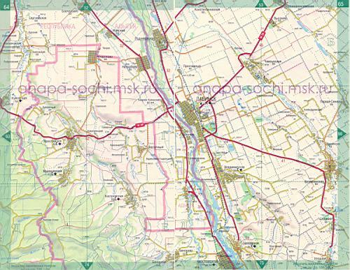 Района краснодарского края