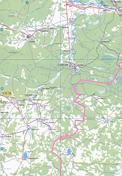 Онлайн карта пгт Тугулыма с улицами и номерами домов