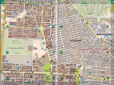 Ростов - Советский район. Карта Ростова на дону ...: http://rf-town.ru/980500.html