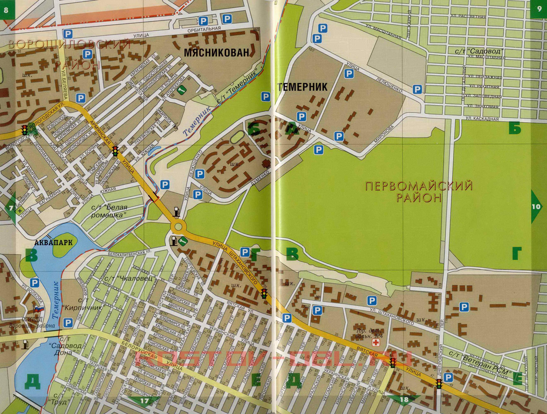 Ростов - Первомайский район. Карта Первомайского района ...: http://rf-town.ru/map980395_0_1.htm
