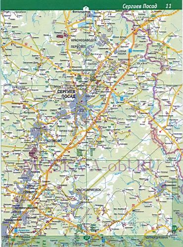 Площадь трёх Вокзалы на карте
