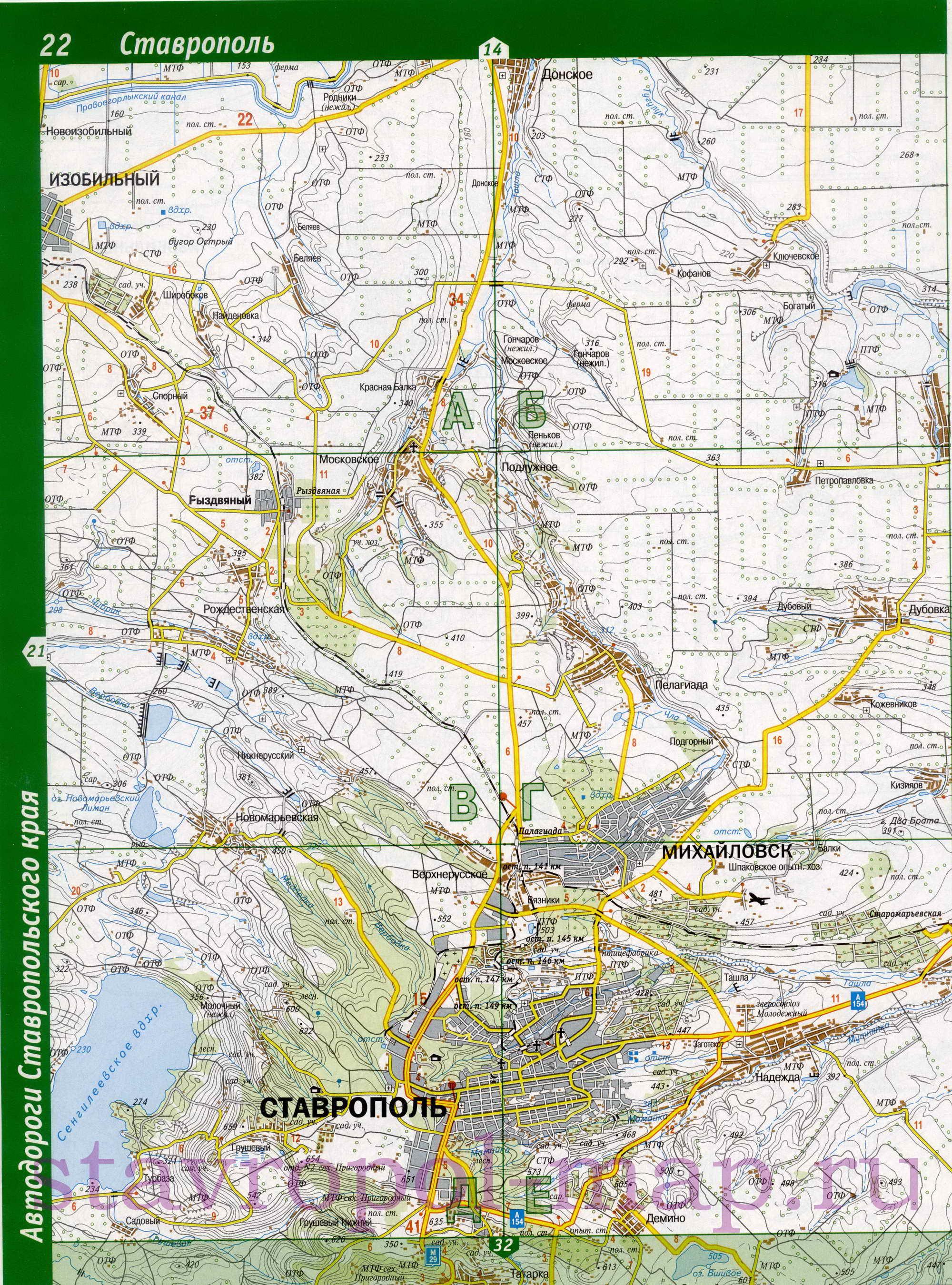 карта автодорог молодечненского р-на