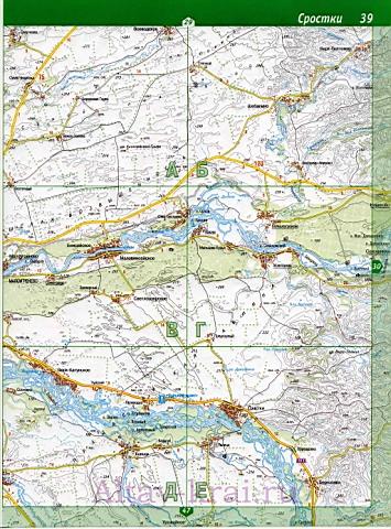Карта Бийска Алтайского края