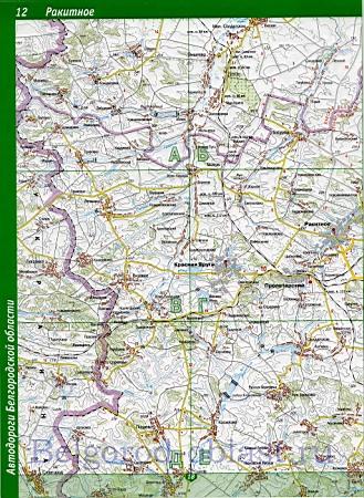 Карта Грайворонского района